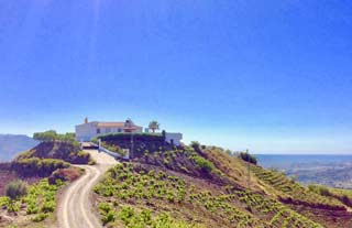 Villa met airco en zicht op zee met prive zwembad strand kust Andalusie - Villa la Reina
