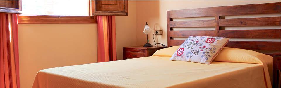 slaapkamer vakantiehuis andalusie
