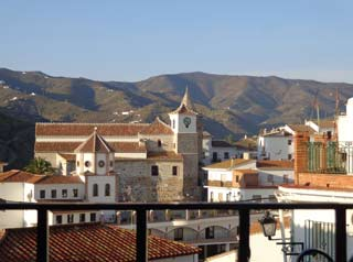 overwinteren in Andalusie in een dorp in Zuid Spanje