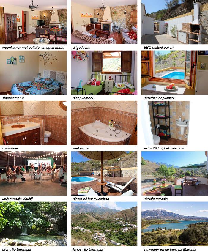 vakantiehuis in Vinuela