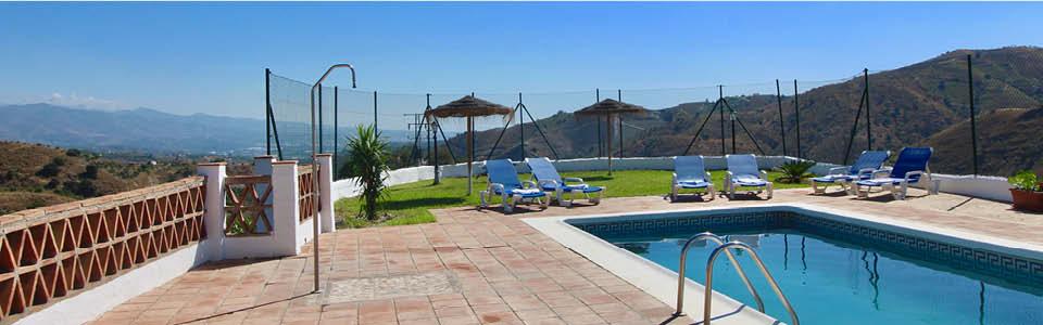 vakantiehuis andalusie met zwembad
