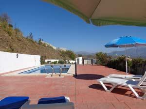 Casa Lagar zonneterras bij het zwembad