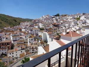Casa Valerio, het dorpje Almachar