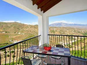 vakantiehuisje Andalusie met uitzicht