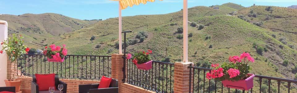 Appartement Josefina met airco in El Borge ...Echt Andalusie