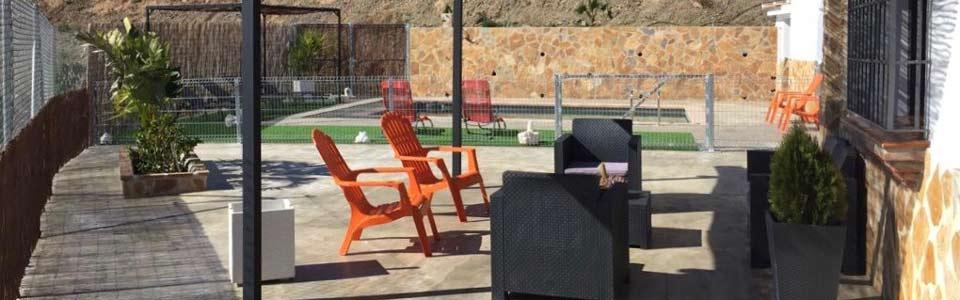 Vakantiehuis Casa Salvalex - kindvriendelijk hekje om het prive zwembad EchtAndalusie