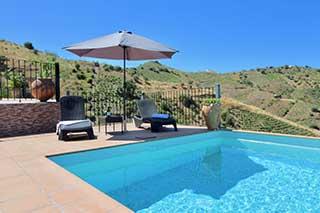 vakantiehuis Tortela airco en zwembad Andalusie