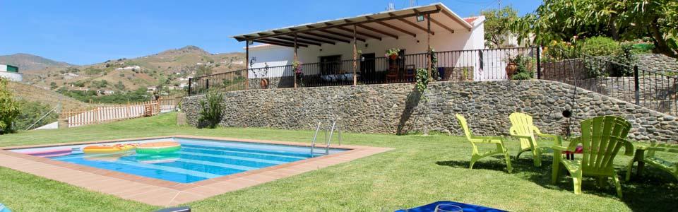 vakantiehuis in andalusie met zwembad huren