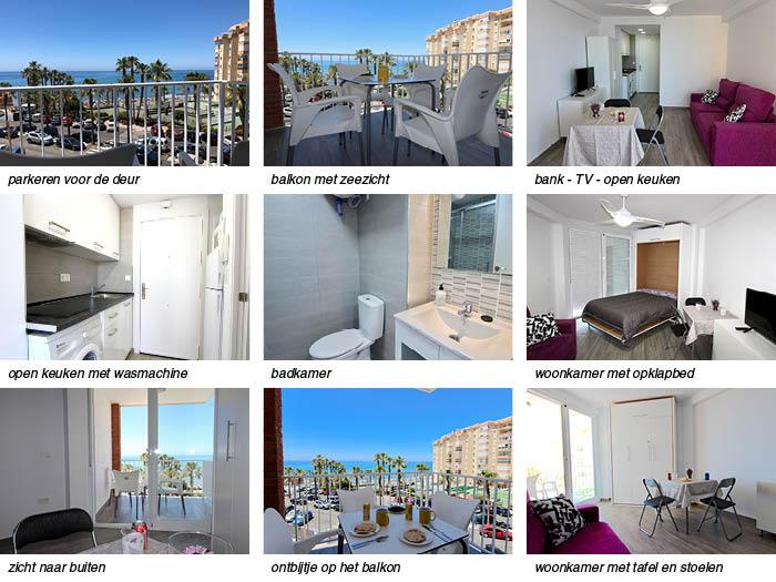 details van het appartement aan de boulevard