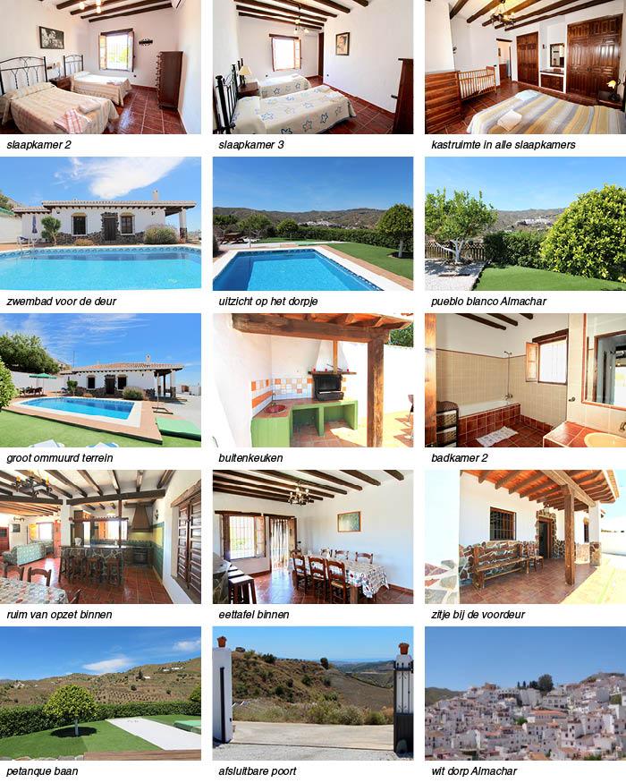villa andalusie met zwembad strip onder