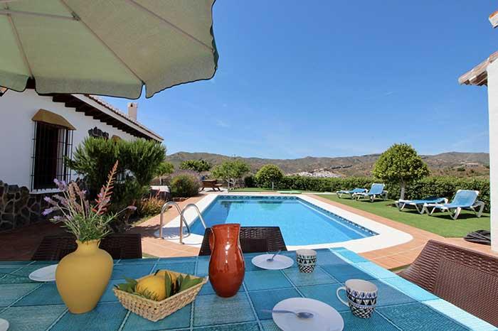 welkom in Andalusie villa rosalia