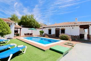 Vakantiehuis Andalusie Rosalia zwembad en airco