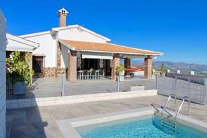 voorgevel vakantiehuis Casa Susana
