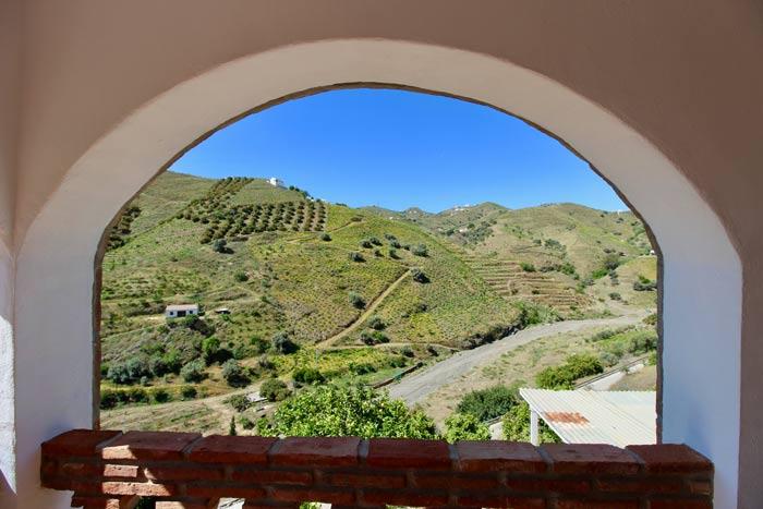 vakantiehuis Andalusie uitzicht op de rivier