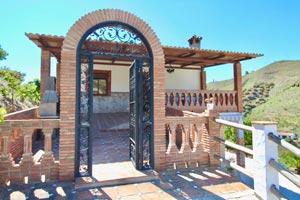 vakantiehuis Andalusie met zwembad Vivian entree